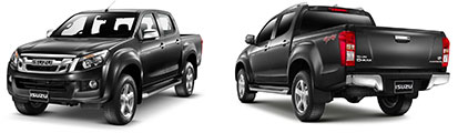 Pick-up Isuzu D-Max Nero
